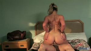 Blonde Phoenix Marie goes in for rough fucking in tights