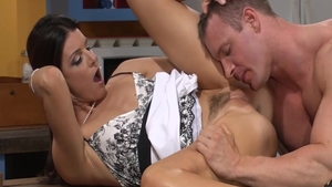 Sweet India Summer cheating pussy eating