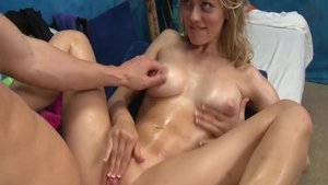 Ramming hard in the company of young amateur Alli Rae