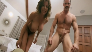 POV the best sex in the company of mature Alexis Fawx