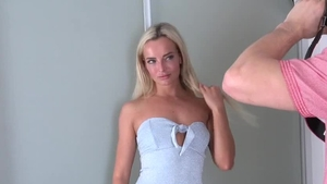 Czech blonde Victoria Pure has a passion for real sex