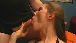 Shaved german doll need nailing in HD