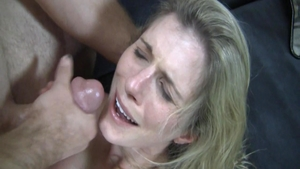 Teen chick Cory Chase cumshot