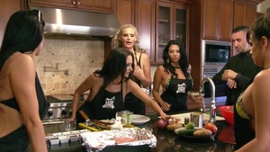 Big boobs Nikki Benz and Ava Addams good fuck at the party