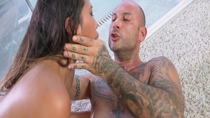 Hottest Mike Angelo with May Thai sucking cock