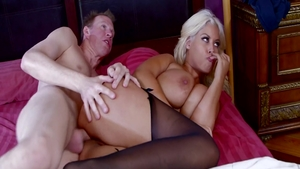 Super sexy pornstar Bridgette B receives rough sex
