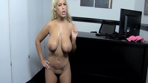 Bridgette B dick sucking in office
