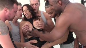 Large boobs Alexis Fawx humping dick sucking