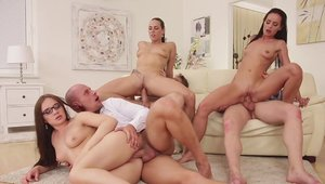 Raw good fuck in company with young swinger Mea Melone