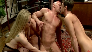 Rough plowing hard in the company of sexy mistress Chad White