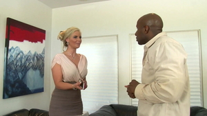 First time the best sex together with big tits MILF