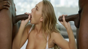 Girl Carter Cruise in her lingerie cowgirl fuck