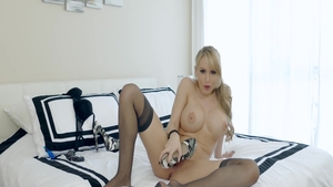 Nailed rough in the company of large tits blonde Katie Morgan