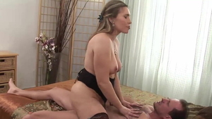 Nailing along with big ass stepmom George Uhl in HD