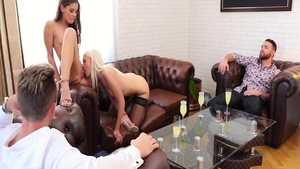 Orgy with glamour Cindy Hope as well as Helena Moeller