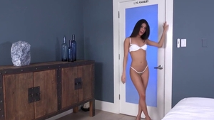 Young Veronica Rodriguez fingering