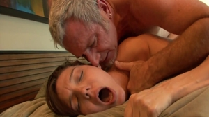 Real sex in company with small tits coed Natalie Monroe