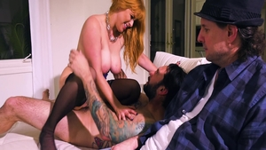 Real sex escorted by horny stepmom Penny Pax