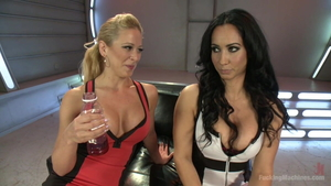 Orgasm together with big tits stepmom Cherie Deville