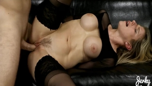 Large tits MILF Cory Chase has a soft spot for rough nailing