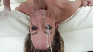 Rough deepthroat escorted by very sexy slut Khloe Kapri