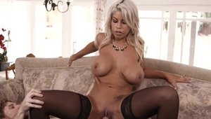 Big butt stepmom Bridgette B has a passion for hard fucking