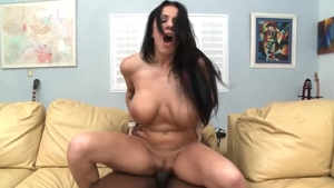 Busty girl Lylith Lavey hardcore interracial fuck