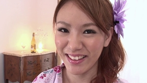 Hairy pussy japanese babe fun with toys in HD