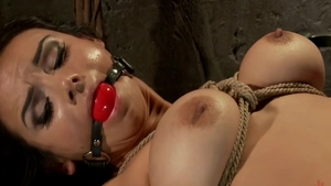 Fetish bondage in the company of Ariel X and Nadia Styles