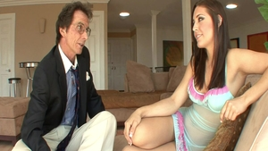 Young erotic babe Gracie Glam steamy pussy fucking