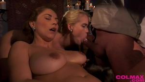 Frida Sante goes wild on cock