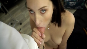 Hardcore sex in company with very sexy babe Ryan Madison