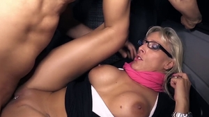Raw sex in company with naughty deutsch MILF