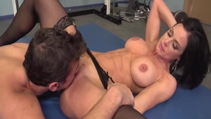 Busty mature Kendra Lust doggy style cumshot