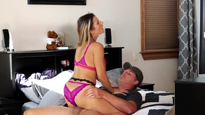 Mandy Flores in lingerie rough cheating