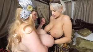 Raw real sex between large boobs stepmom Angel Wicky