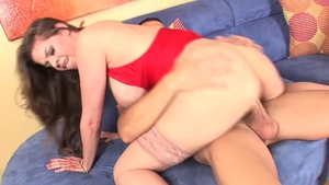 Busty pornstar June Summers has a thing for rough sex