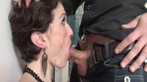 Slamming hard together with horny MILF
