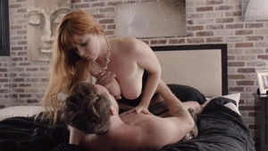 Big boobs redhead Penny Pax has a thing for rough sex