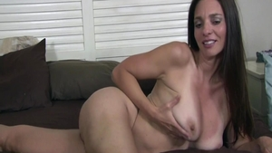 Sex scene starring big boobs american MILF Mindi Mink