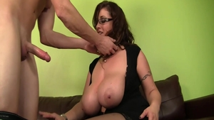 Hardcore the best sex escorted by large tits mature Eva Notty