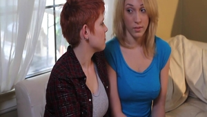 Lily Labeau in company with Lily Cade experience ass fucked