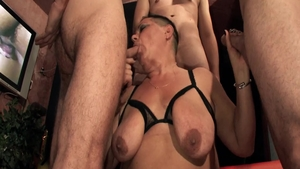 Hairy mature rough sucking cock at the casting