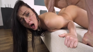 Super hot babe Katy Rose feels in need of good fuck