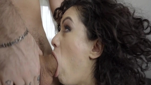Hottest brunette Stacy Bloom finds irresistible pussy fucking