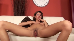 Sex scene with hairy female
