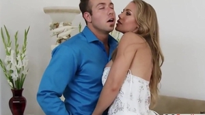 Rough sex in the company of big tits stepmom
