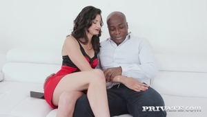Sloppy fucking with brunette Katy Rose