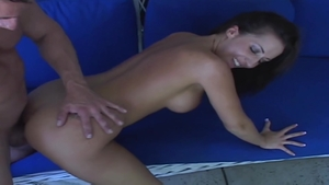 Real fucking along with large tits brunette Richelle Ryan