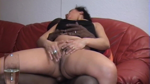 Cock sucking in the morning together with housewife